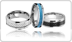Carbon Fiber Tungsten Bands
