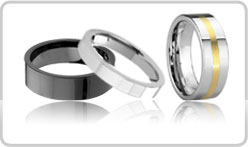 Flat Tungsten Bands