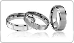 Raised Tungsten Bands