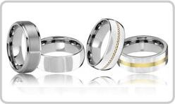 All Tungsten Wedding Rings